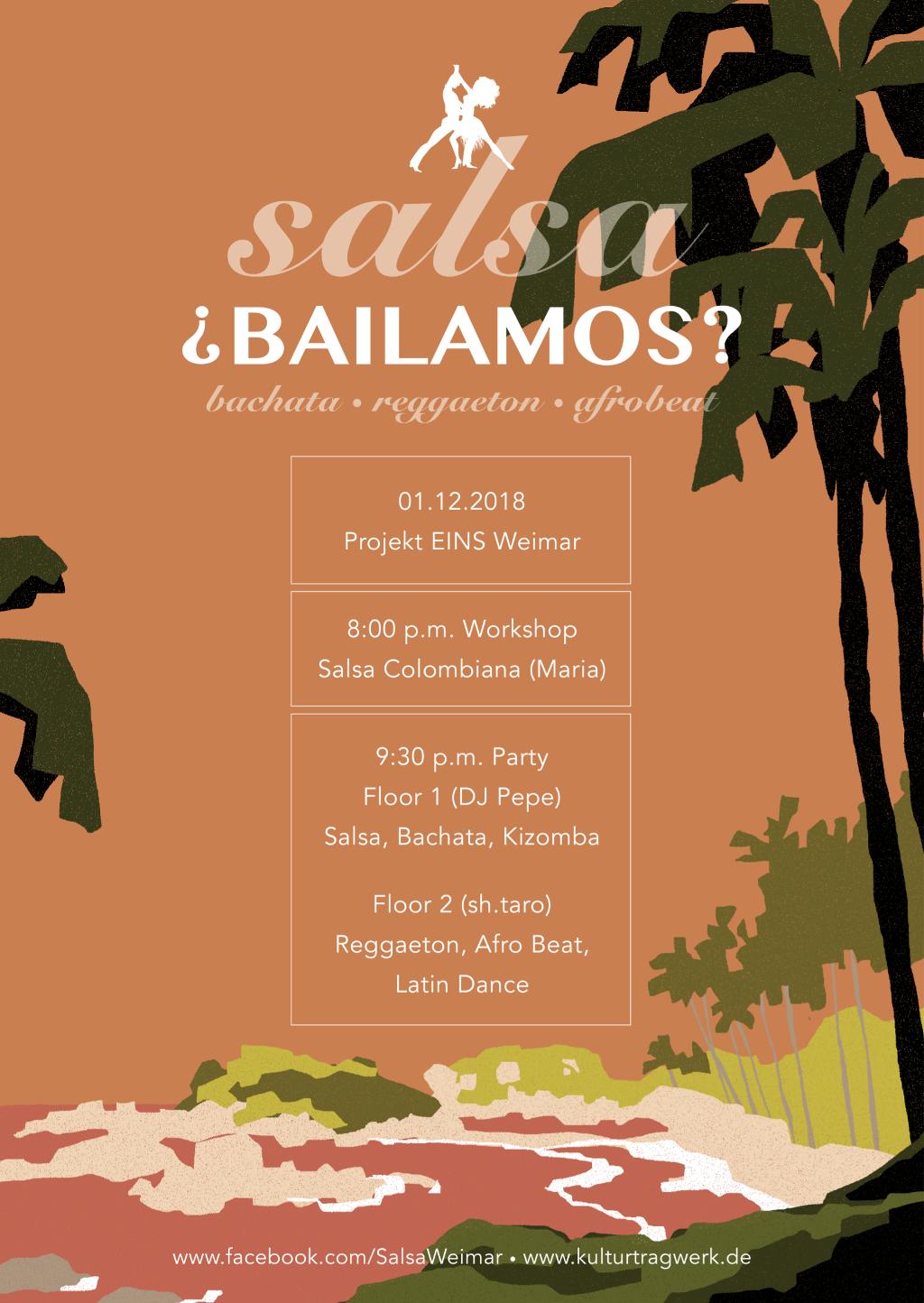 ¿Bailamos? Salsa, Bachata, Reggaeton, Afrobeat & Latin Dance